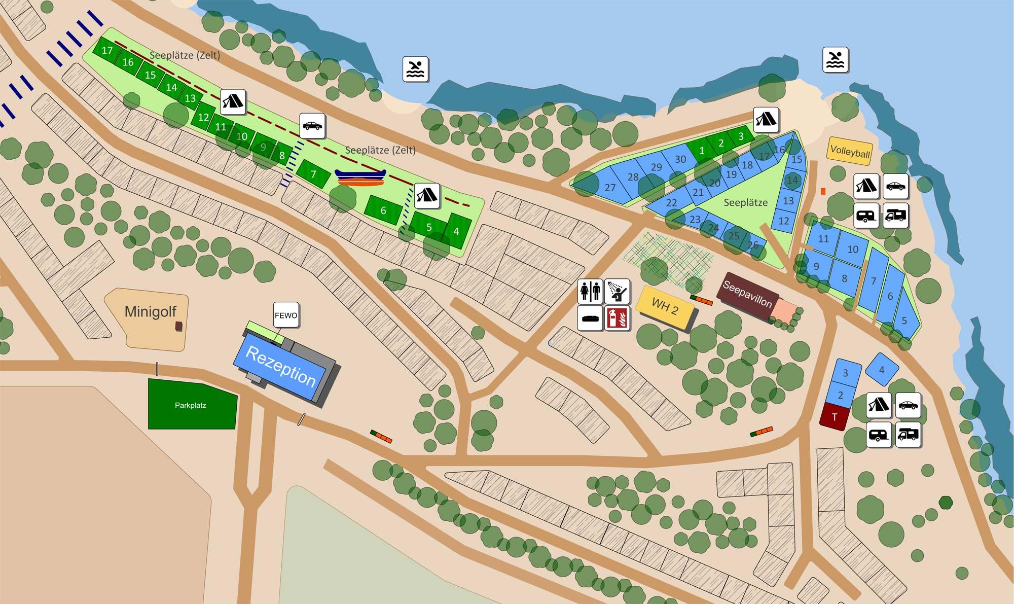 Platzplan See